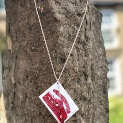 fortune telling fish necklace