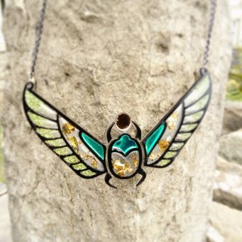 scarab beetle egyptian statement