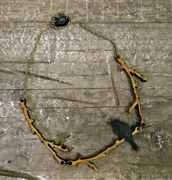 Bamboo gothic alternative jewellery by beams and bobbins