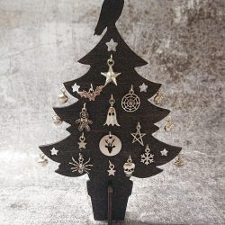 Gothic Charm Tree by Beams and Bobbins Gothic Homewares Christmas Tree